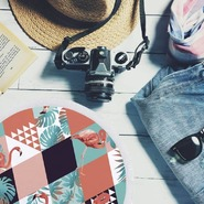 Comment se passe vos vacances ? 🌞🌺 (Sans oublier votre serviette ronde 😛)Une pensée à tous ceux qui ne le sont pas encore et tous qui travaillerons tout l'été 😇 #vacances #été