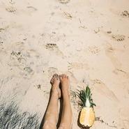 Qui veut une bonne dose de soleil sur le sable chaud ? 😎 #serviettedeplage #roundie #Perfect #love